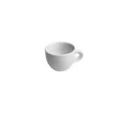 TB016130000 /A Φλυτζάνι Πορσελάνης RITA 160cc, Σειρά TORREF B, λευκό