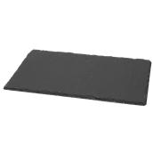 R392038ARDE /U Ορθογώνια Πλάκα σχιστόλιθου 38x26cm, Σειρά SLATE OLLY