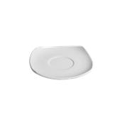 EC006110000 /A Πιατάκι κούπας Πορσελάνης 14x14cm, SANDY, λευκό