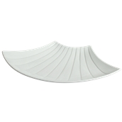 MM1AT700000 /U Κοχύλι Μεγάλο 42x37cm, Σειρά MAGNUM, λευκό