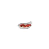PY0AF540000 /A Μικρό Μπωλ Κυματοειδές Πορσελάνης 13x7x3cm, Σειρά PARTY, λευκό