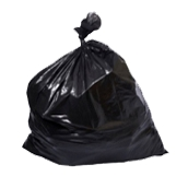 RB-90130/1100gr Ρολό 10 τεμ. σακούλες σκουπιδιών, απορριμμάτων 90x130cm, βαρέως τύπου
