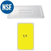 JW-P11HC Καπακι Polycarbonate GN1/1 (53x32.5cm) -