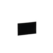 HKR-01-710 Ανταλλακτική Κάρτα - Ταμπελάκι 2 Όψεων, ΜΑΤ μαύρη, 7x10 cm