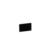 HKR-01-46 Ανταλλακτική Κάρτα - Ταμπελάκι 2 Όψεων, ΜΑΤ μαύρη, 4x6 cm