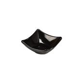 K-4511/BLACK Μπωλ/Πιατάκι μελαμίνης, 8.5x8.5x3.5cm, μαύρο