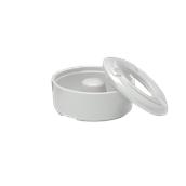 K-1009/WHITE Αντιανεμικό τασάκι μελαμίνης, φ9x4cm, άσπρο