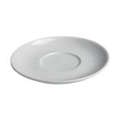 TB007280000 /A Πιάτο για κούπες Γίγας, Φ28,5cm Πορσελάνης, λευκό