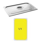 FLG-1/1 Καπάκι δοχείου γαστρονομίας ανοξείδωτο 18/10, GN1/1 (53x32.5cm), FUECO