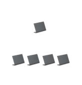 TBA-BL-A8 Σετ 5 τεμ Επιτραπέζιες σημάνσεις A8 σε σχήμα L, 7.32x5.13cm