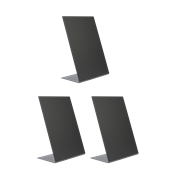 TBA-BL-A5 Σετ 3 τεμ Επιτραπέζιες σημάνσεις A5 σε σχήμα L, 14.7x20.8cm
