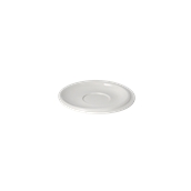 RS006150000 /A Πιατάκι κούπας Πορσελάνης Φ15cm, Σειρά RESORT, λευκό