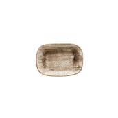 ATRGRM17DKY Δίσκος Ορθογώνιος πορσελάνης 17cm, Terrain, BONNA