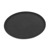 MFE-1400 Δίσκος Σερβιρίσματος Fiberglass, Στρογγυλός Αντιολισθητικός Φ35,5cm, Μαύρος
