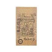 70.02.08-17x33/BK Σακούλα Kraft Σχέδιο Bakery 17x33cm