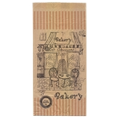 70.02.01-20x43/BK Σακούλα Kraft Σχέδιο Bakery 20x43cm