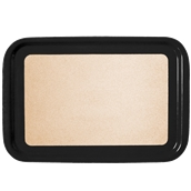 DIA-FE-009/BK Ξύλινος δίσκος σερβιρίσματος με φελλό, 73x47cm, μαύρος, Ελληνικής κατασκευής