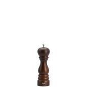 6151T Μύλος Πιπεριού (σειρά ROMA), ξύλο καρυδιάς, ύψος 190mm, Bisetti Italy
