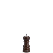 6150T Μύλος Πιπεριού (σειρά ROMA), ξύλο καρυδιάς, ύψος 130mm, Bisetti Italy