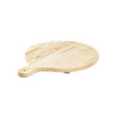 358/35 Ξύλινη Πιατέλα Πίτσας, πεύκο, φ35x2cm, Bisetti Italy