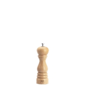 6151MSN Μύλος Αλατιού (σειρά ROMA), ξύλο φυσικό, ύψος 190mm, Bisetti Italy