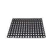 E-0513/BK Ποδόμακτρο δαχτυλίδι 100% καουτσούκ, 4080gr/m2, 40x60cm, μαύρο