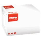 81320000 ΠΑΚΕΤΟ 350 Χαρτοπετσέτες 1Φ 27x30 λευκές Πολυτελείας, FATO Ιταλίας
