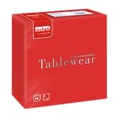 88401500 ΠΑΚΕΤΟ 50 Χαρτοπετσέτες Airlaid Tablewear 40x40 κόκκινες, FATO Ιταλίας