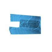 PSK-43/B/10KG Συσκευασία 10 κιλών Σακούλεs / Τσάντες Φανελάκι 25+9 X 43cm Μπλε