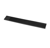 SYR-010140/BK Μπαρ Ματ 59x8x1cm, μαύρο λάστιχο