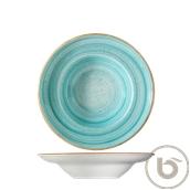 AAQGRM27CK  Πιάτο Βαθύ πορσελάνης 27cm, Aqua, BONNA