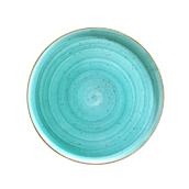 AAQGRM32PZ  Πιάτο Ρηχό Πίτσας πορσελάνης 32cm, Aqua, BONNA