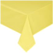 PAROS-140X140/YE Τραπεζομάντηλο από αδιάβροχο, αλέκιαστο ύφασμα, 150gr/m2, 140x140cm, κίτρινο