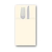 88480500 ΠΑΚΕΤΟ 50 Χαρτοπετσέτες Airlaid  Quick Pocket 40x40 Tablewear κρεμ, FATO Ιταλίας