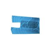 PSK-35/B/10KG Συσκευασία 10 κιλών Σακούλεs / Τσάντες Φανελάκι 20+7.5 X 35cm Μπλε