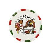 178-0002 Πιάτο πορσελάνης για Pizza 30cm, με σχέδιο, ALAR