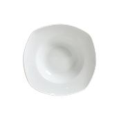 178-0008 Πιάτο πορσελάνης ζυμαρικών τετράγωνο 30cm, ALAR