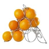 CT.CK0194 Βάση μεταλλική πορτοκαλιών, 32x32x27cm, Cosy & Trendy