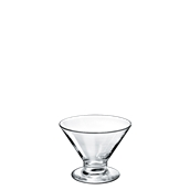 VICENZA/ICE100 Γυάλινο Μπωλ Παγωτού 10cc, φ8.5x6.6cm, BORGONOVO, Iταλίας