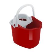 RED942-15LT Κουβάς 15L, με στίφτη, 29.5x38.5x42.5cm, κόκκινο, Curver