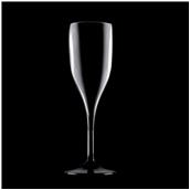3777-19 Πλαστικό ποτήρι SAN πισίνας 15cl μαύρο