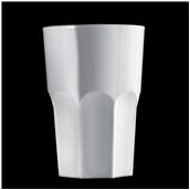 2763-11 Πλαστικό ποτήρι SAN πισίνας 42cl λευκό