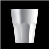 2764-11 Πλαστικό ποτήρι SAN πισίνας 33cl λευκό