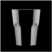 2764-19 Πλαστικό ποτήρι SAN πισίνας 33cl μαύρο