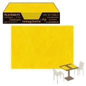PT3345-07 Σουπλά 33x45cm, NonWoven (υφή υφάσματος), Κίτρινο
