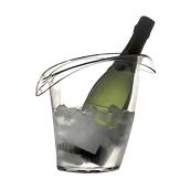 4781-21 Σαμπανιέρα SAN, για 1 μπουκάλι, 18x26.5cm, 3250cc, Διάφανη