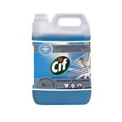 CIF-7517832/5LT Υγρό καθαριστικό τζαμιών/σκληρών επιφανειών 5lt, δεν αφήνει στίγματα, Cif