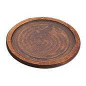 359/35 Δίσκος Σερβιρίσματος μεTζάμι,TemperedΦ35x1,8cm