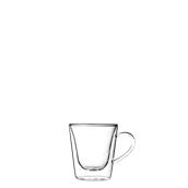 DUOS-CUP/12CL Γυάλινο Φλυτζάνι espresso, διπλών τοιχωμάτων 12cl, Luigi Bormioli