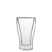 DUOS/34CL Γυάλινο ποτήρι καφέ, διπλών τοιχωμάτων 34cl, φ9x15cm, Luigi Bormioli